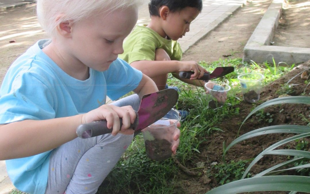 Gardening in Playgroup