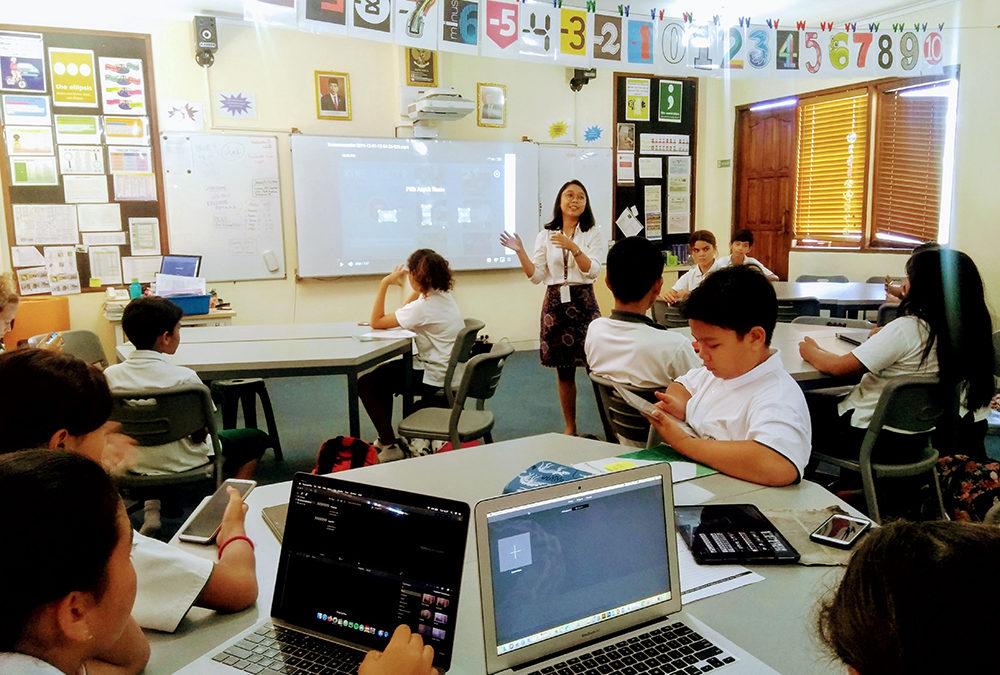 Kelas 6 Belajar Membuat Vlog