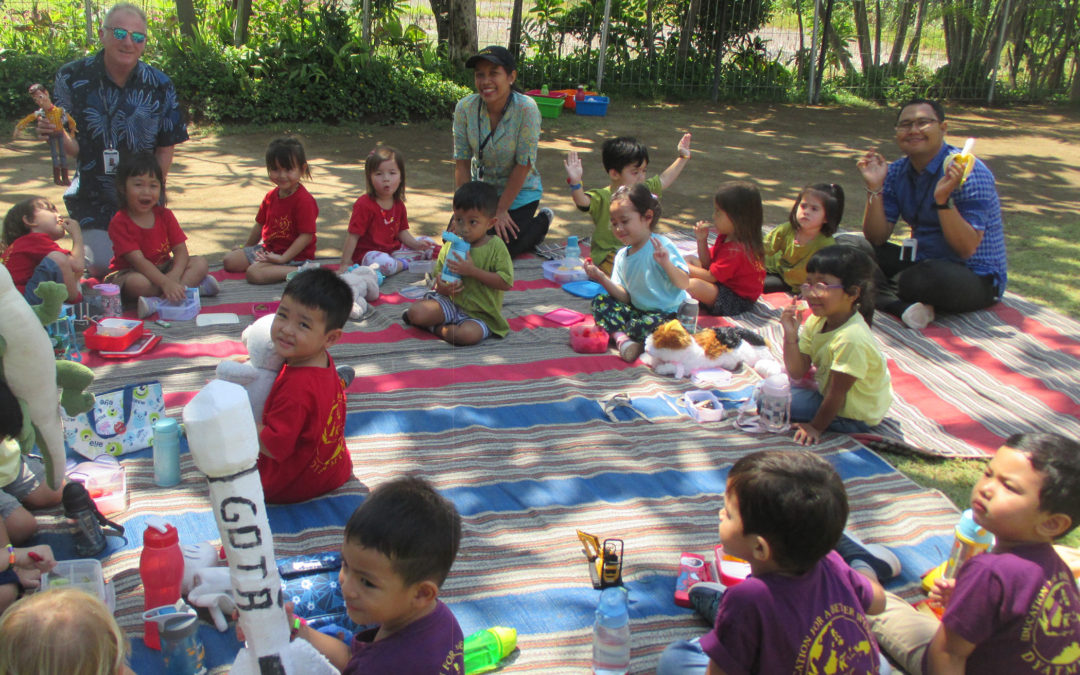 Teddy Bear Picnic in Playgroup