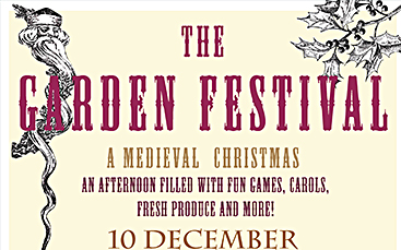Medieval Christmas Concert at Dyatmika Community Garden
