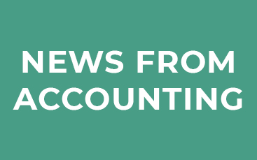 News from Accounting